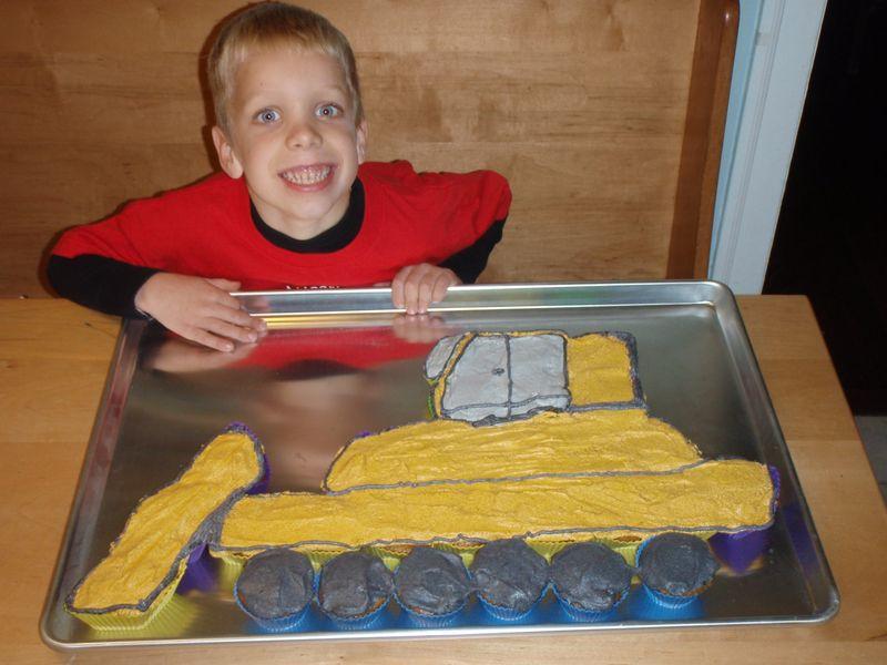 CJ 6 with cake
