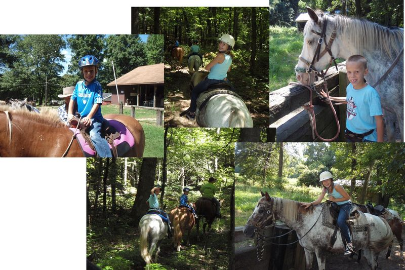 Horseback riding pic